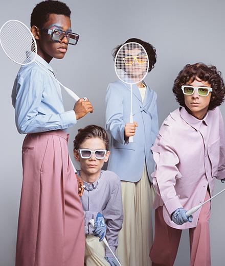 """Série mode: """"Vacances en famille"""" par Erwan Frotin pour Numéro Homme"""