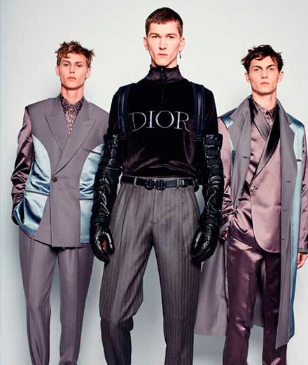 EXCLUSIF : les backstages du défilé Dior automne-hiver 2019-2020 collection homme