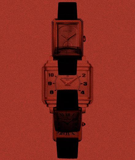 Notre sélection de montres à cadran rectangulaire