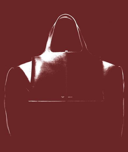 L'objet fétiche de la semaine : le sac Tri-fold de Céline