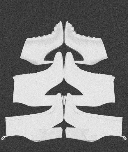 The black boots from Gianvito Rossi, Sergio Rossi and Stella Luna