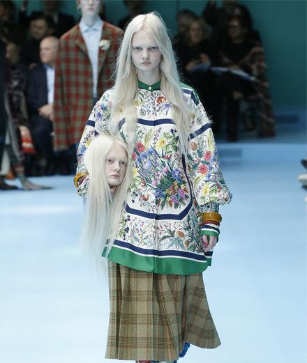 Le défilé Gucci automne-hiver 2018-2019