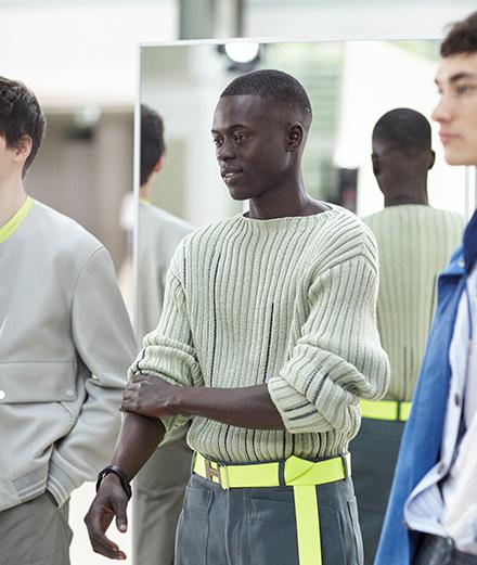 Hermès invite dans les coulisses de sa collection homme printemps-été 2021