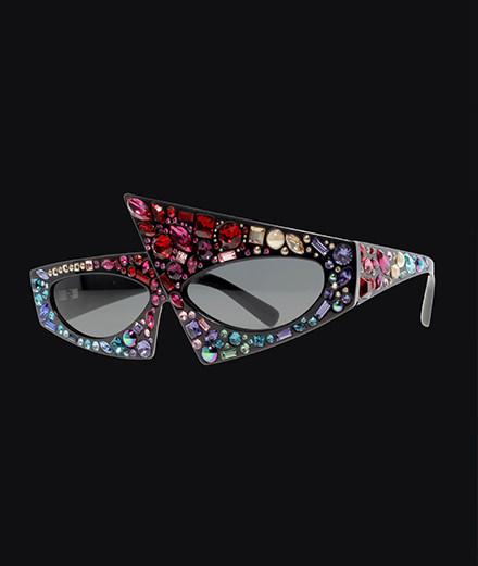 L'objet du jour : les lunettes Alain Mikli x Jeremy Scott