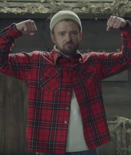Le nouveau délire forestier de Justin Timberlake