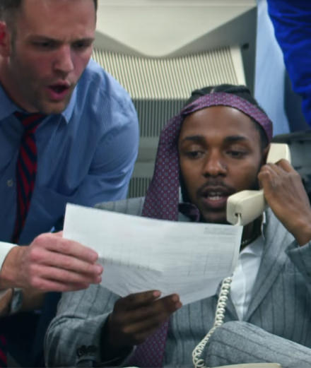 Kendrick Lamar,  Future et James Blake dans un clip explosif
