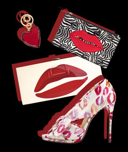 Les accessoires célèbrent l'amour