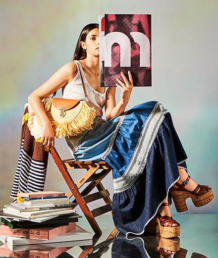 Miu Miu dévoile un vestiaire rétro inspiré par la Côte d'Azur