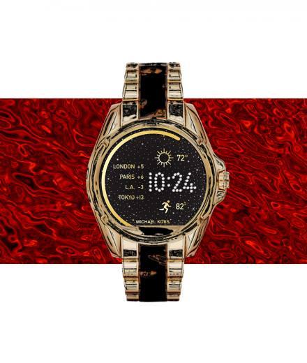 L'objet fétiche de la semaine : la montre connectée de Michael Kors