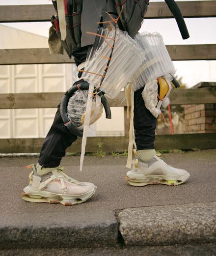 Nike présente une nouvelle collection de sneakers expérimentales