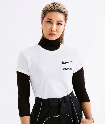 Le glamour s'invite chez Nike avec la collaboration Ambush