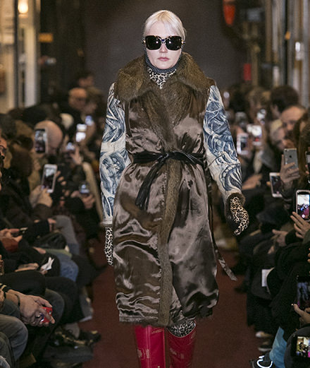 Vetements fall-winter 2018-2019 fashion show