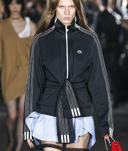 Alexander Wang détourne encore le jogging Adidas