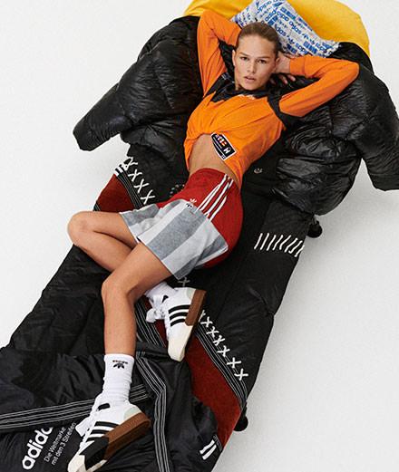 Alexander Wang puise dans les archives d'Adidas pour sa quatrième collaboration