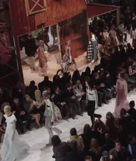 When art gets invited onto the runway: Raf Simons and Sterling Ruby