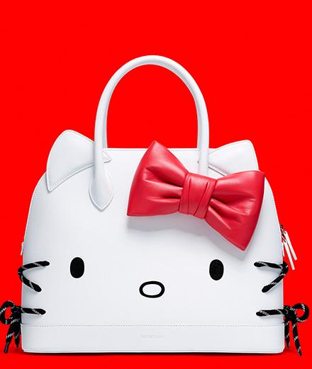 L'objet du jour : le sac Hello Kitty par Balenciaga
