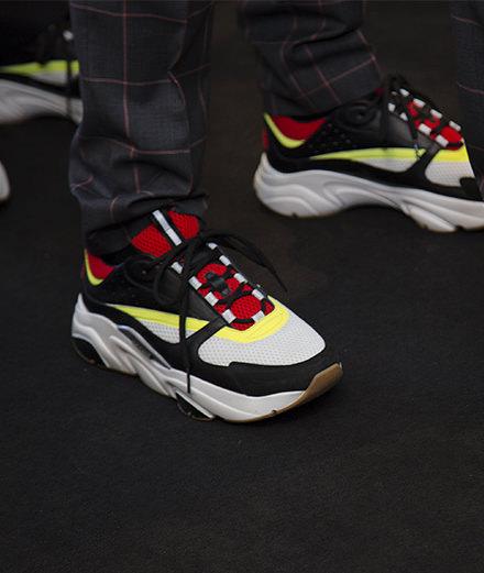 L'objet du jour : la sneaker B22 de Dior Homme