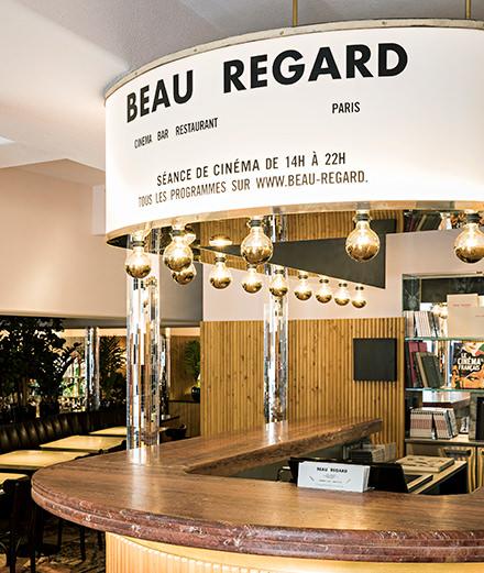 La brasserie et cinéma Beau Regard réveille Saint-Germain-des-Prés