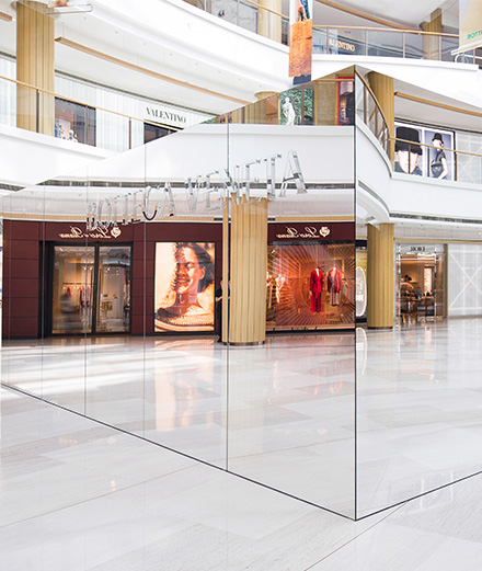 Bottega Veneta installe un magasin invisible