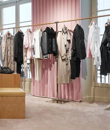 Burberry dévoile sa pré-collection 2020 dans une nouvelle boutique éphémère