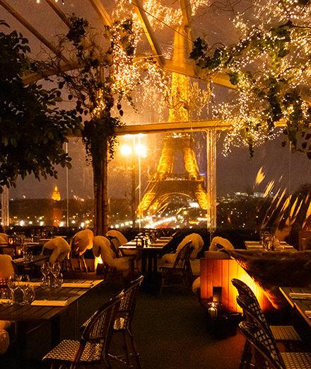 Le Café de l'Homme, la plus belle vue de Paris