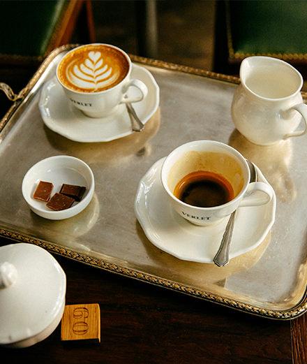 Découvrir l'authentique café à la française chez Verlet