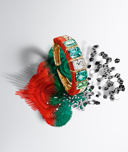 Cartier haute joaillerie : une collection entre abstraction et figuration