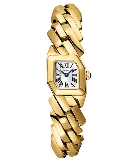 Cartier détourne la gourmette pour sa nouvelle montre