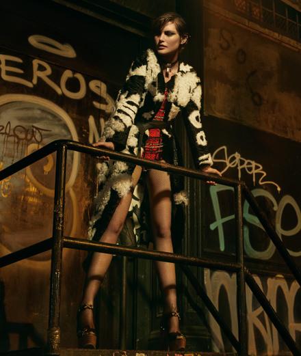 """Exclusif : La série mode """"Nuit fauve"""" par Bruno Dayan"""