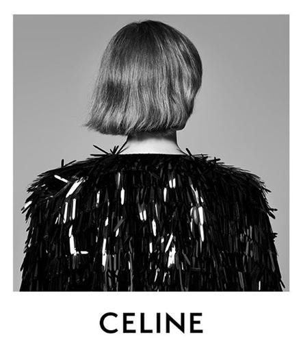 Hedi Slimane repense le logo Celine