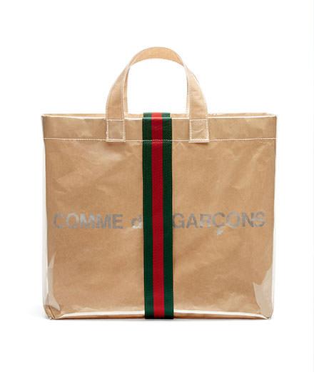 L'objet du jour : le sac Gucci x Comme des Garçons