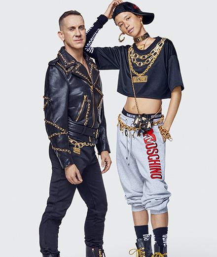 Cuir et chaînes dorées, logos MTV et Disney, la collection H&M x Moschino se révèle plus excentrique que jamais