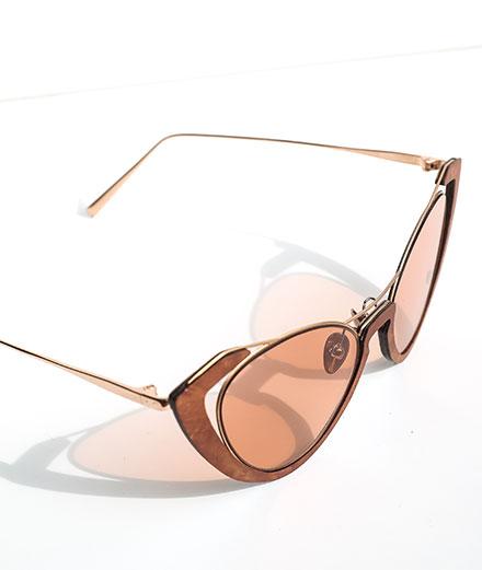 L'objet du jour : les lunettes de soleil en bois Shelter x Hugo Matha