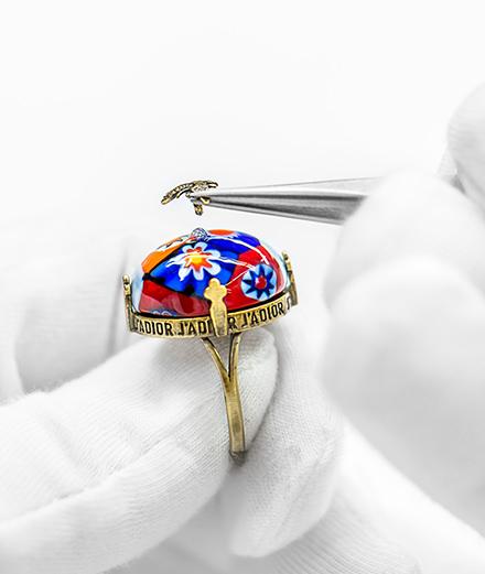 D-Murrine : les bijoux Dior inspirés des œuvres de Niki de Saint Phalle