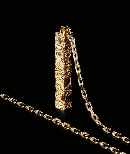 Celine décline les compressions de César en bijoux
