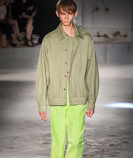 Acne men Spring-Summer 2019 fashion show