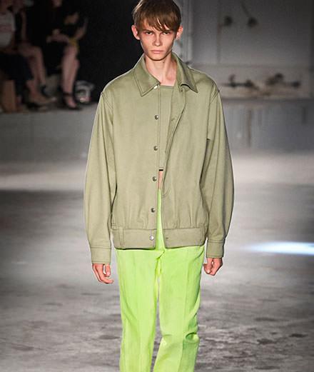 Acne men Spring-Summer 2019 fashion show