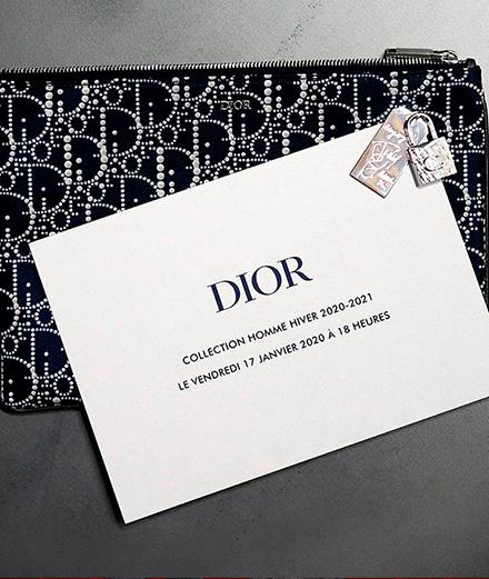 Vidéo : le défilé Dior collection homme automne-hiver 2020-2021