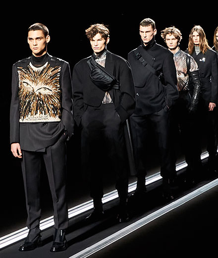 Le défilé Dior automne-hiver 2019-2020 collection homme