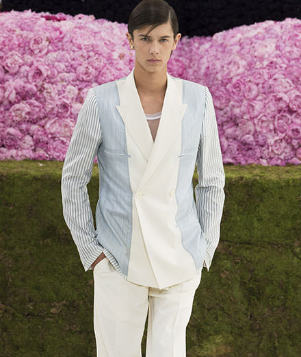 Kim Jones first Dior men fashion show