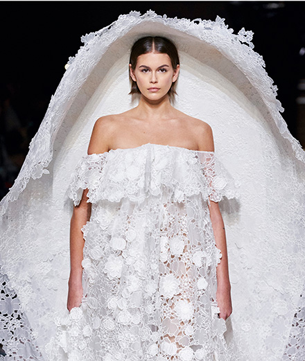 Givenchy haute couture spring-summer 2020 fashion show