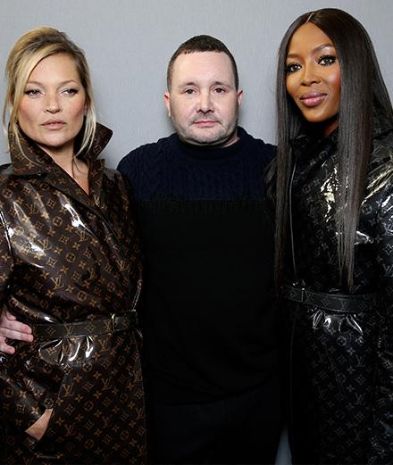 Kate Moss et Naomi Campbell rejoignent Kim Jones pour son dernier défilé chez Louis Vuitton