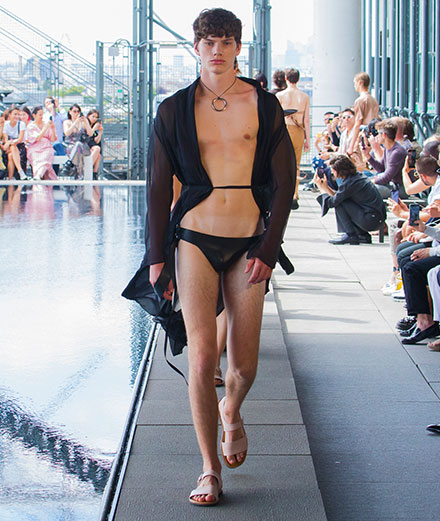 Ludovic de Saint Sernin Spring-Summer 2020 fashion show