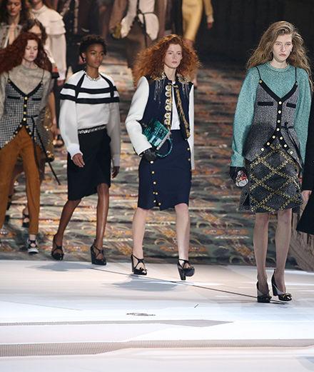 Le défilé Louis Vuitton automne-hiver 2018-2019