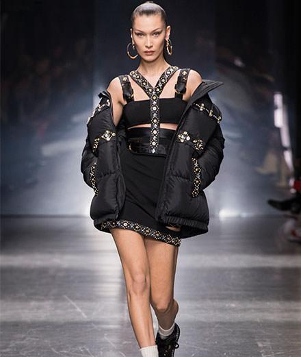 Le défilé Versace homme automne-hiver 2019-2020 et pre-fall 2019