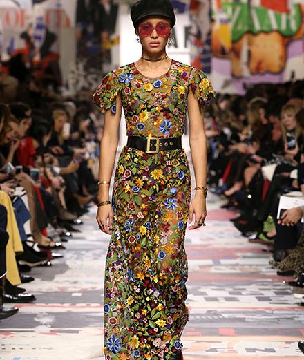 Le défilé Dior automne-hiver 2018-2019