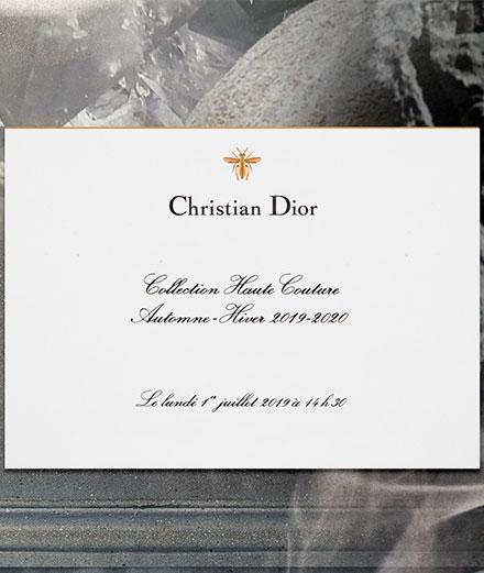Vidéo : le défilé Dior haute couture automne-hiver 2019-2020 en direct