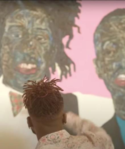Kim Jones invite l'artiste Amoako Boafo sur la collection Dior homme printemps-été 2021