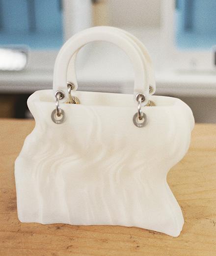 Lady Dior Art : Marguerite Humeau imprime un sac en 3D