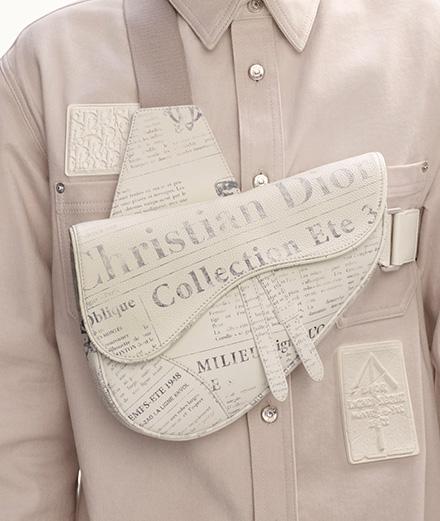 """L'imprimé """"Journaux"""" de Dior fait son grand retour"""